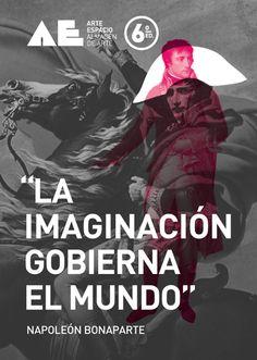 """""""La imaginación gobierna el mundo"""" #Napoleón Bonaparte #AE2014"""