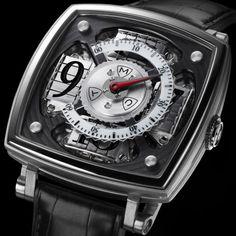 La montre MCT Sequential One - Manufacture Contemporaine du Temps Ring Watch, Watch Case, Cool Watches, Watches For Men, Men's Watches, Unique Watches, Fine Watches, Wrist Watches, Rolex