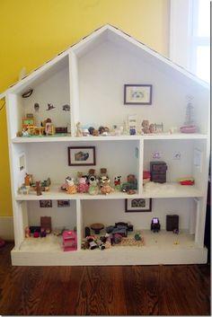 american+girl+doll+diy+house+made+from+a+bookshelf | Found on diylouisville.blogspot.com
