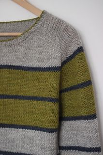 Ravelry: Banded pattern by Dieuwke Schack-Mulligen Hand Knitted Sweaters, Sweater Knitting Patterns, Knitting Stitches, Baby Knitting, Stripes Design, Red Stripes, Pulls, Knit Cardigan, Lana