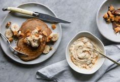 Gingerbread Pancakes with Honeycomb Mascarpone — IN BED Store