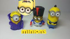 Minions 2015 McDonalds Happy Meal toys Vampire Marching Minion Soldier Kevin  ‪#‎happymeal‬ ‪#‎mcdonalds‬ ‪#‎minions‬