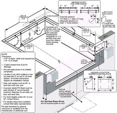 Concrete Anchors, Green Cafe, Architectural Drawings, Warehouse, Floor Plans, Layout, The Unit, Graphics, Flooring