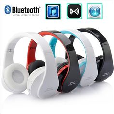 NX-8252 Stereo Blutooth Bass Casque Audio Bluetooth Headset Wireless Headphone Earphone for iPhone Samsung Xiaomi Features: Bluetooth + stereo headset ...