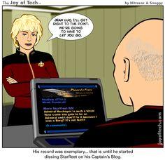 Captain's Blog - http://dashburst.com/humor/captains-blog/