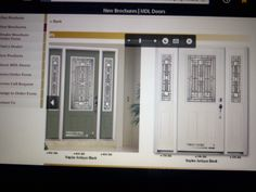 1000 images about front doors on pinterest front entry for Front doors that let in light