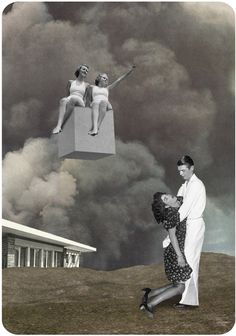 Perpendicular Dreams - Julien Pacaud • Illustration • Perpendicular Dreams