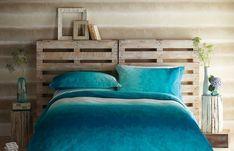 Cabeceira de cama feita de Pallet (1)