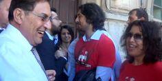 """I giovani ricercatori precari a Crocetta: """"Un centesimo per la ricerca"""" (VIDEO)"""