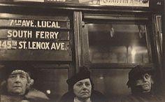 Subway Portrait, Walker Evans, 1938–41. © Walker Evans Archive, The Metropolitan Museum of Art