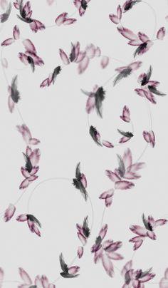 Pretty Little Liars - Hannah's Room Feather Wallpaper Want for a future bathroom!!! Love it!!! trove - askella wallpaper