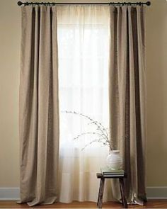 Possibly No Sew I Have Always Loved This Dropcloth Drapes Project