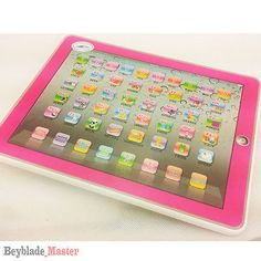 Y-pad Computer Tablet Learning English Education PINK Toy Gift for Kids 10.1