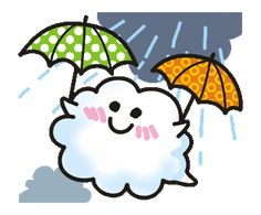 LINE Creators' Stickers - Animations of a cute cloud. Example with GIF Animation Funny Cartoon Gifs, Cute Cartoon Pictures, Emoji People, Happy Day Quotes, Cute Love Gif, Kawaii Illustration, Beautiful Fantasy Art, Line Sticker, Happy Weekend