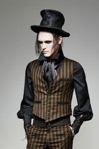 steampunk mantel herren gestreift costuming steampunk. Black Bedroom Furniture Sets. Home Design Ideas