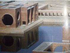 Louis Kahn, centrum rządowego Kapitolu w Dhace, Bangladesz, 1962