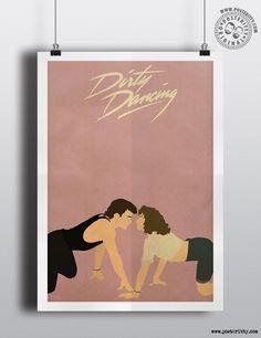 Dirty Dancing (Loverboy) - Minimalist Movie Poster