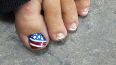Simple patriotic design