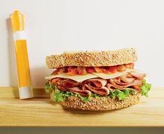 Ham, Salsa and Jalapeno Havarti Sandwich with Dofino® Sliced Jalapeno Havarti Cheese Havarti Cheese, Brunch Recipes, Ham, Salsa, Sandwiches, Lunch, Food, Hams, Eat Lunch