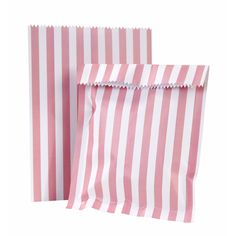 Party Time Celebrations  - Pink N Mix Party Stripe Paper Treat Bags, $8.95 (http://www.partytimecelebrations.com.au/pink-n-mix-party-stripe-paper-treat-bags/)