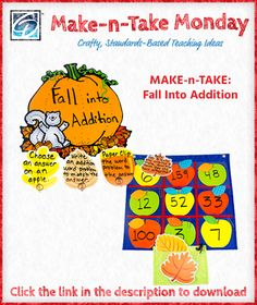 Ready to get your students engaged in an awesome seasonal math activity? This hands-on addition exercise promotes critical thinking in a fun way. It's also perfect for learning centers.