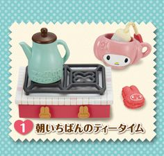 Re-Ment Miniatures - My Melody Kitchen #1