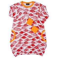 Red Fish Dress