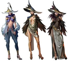 Female Magic Clothing from Mabinogi II: Arena