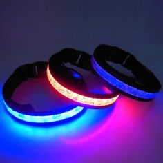 colorful dog collar Led Dog Collar, Over Ear Headphones, Colorful, Gifts, Presents, Favors, Gift