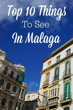 Malaga is an amazing city worth a visit, and a great home base for exploring the Costa del Sol. Don't miss these 10 things to see in Malaga. Malaga Spain, Spain Travel, Andalusia Travel, Portugal Travel, Beautiful Buildings, Seville, Granada, Where To Go, Cool Places To Visit