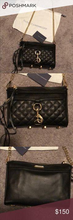 ce95918796 Rebecca Minkoff Bags Crossbody Bags. Rebecca Minkoff black leather M.A.C.  Crossbody Rebecca Minkoff black leather mini M.A.C. Crossbody. Gold hardware