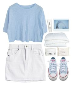 """""""#567"""" by emilypondng ❤ liked on Polyvore featuring Converse, Crate and Barrel, H2O+, Kiehl's and H&M"""