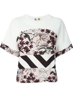 Shop MSGM mixed print top in Luisa World from the world's best independent boutiques at farfetch.com. Over 1000 designers from 300 boutiques in one website.