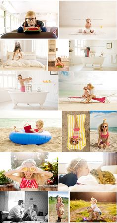 Fabulous lifestyle series.would be fun to take pics of your kid with everything they wanna be when they grow up