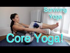Surviving Yoga: Yoga Poses to Build Core Strength! Learn poses that you can do at home that will help to build your core muscles!