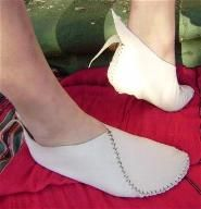 JB moccasin Wedding shoes from Jann French