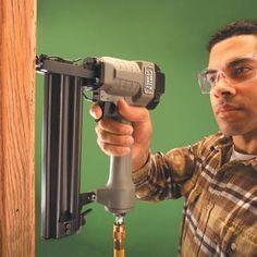 How To Use A Trim Nailer Gun