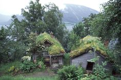 From the old home of a Norwegian painter, Nikolai Astrup, now serving as a museum. Astruptunet in Jølster, Norway.