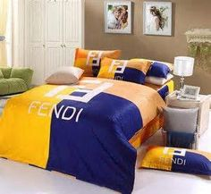King Bedding Sets For Sale Bedding Sets Online, Duvet Bedding Sets, Luxury Bedding Sets, Linen Bedding, Custom Bedding, Bed Linens, Comforters, Fendi, Bed Linen Design