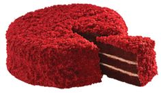 Chateau Gateaux™ our new Southern Red Velvet cake looking luxurious and just too delicious for words!