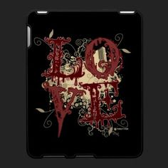 Love Case For The iPad by Sally McLean