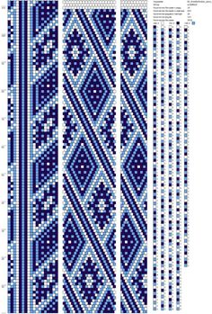 The strands of beads's photos scheme - 4,902 photos   VK