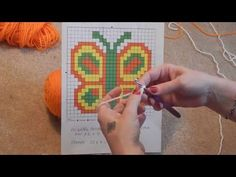 How to convert your graph chart for the crochet waffle stitch. Join me at www.facebook.com/groups/head2urtoes/ #head2urtoes