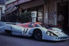 The Porsche 917 driven in Le Mans 1971 by Derek Bell and Jo Siffert.