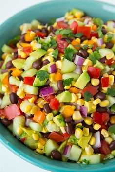 Mexican Chopped Salad with Cilantro Lime Ranch – Cooking Classy Mexican Chopped Salad with Greek Yogurt Cilantro Lime Ranch Mexican Chopped Salad, Mexican Salads, Mexican Food Recipes, Vegetarian Recipes, Cooking Recipes, Chopped Salads, Indian Recipes, Dinner Recipes, Mexican Corn