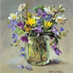 First Flowers | Mill House Fine Art – Publishers of Anne Cotterill Flower Art