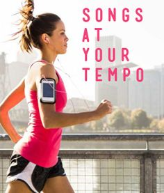 Playlists that match the speed of your run