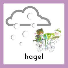 WELKOM weerkalender hagel Schedule Cards, Google Ads, Schmidt, Four Seasons, Homeschool, Place Card Holders, Weather, Learning, Kids