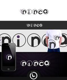 Logo for ninca Logo Branding, Logos, Flip Clock, Logo