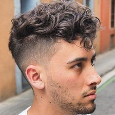 Cool Messy Curly Hairstyles Undercut Curly Hair Pin On Keep Up Dude Men Curly Hairstyles With Undercut Wavy Hair Men Curly Hair Men Top 21 Undercut Haircuts Hai Undercut Curly Hair, Messy Curly Hair, Haircuts For Curly Hair, Curly Hair Men, Undercut Hairstyles, Boy Hairstyles, Haircuts For Men, Long Curly, Long Haircuts